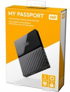 DISCO DURO EXTERNO 1TB 2.5 USB3  WESTER DIGITAL MY PASSPORT WDBYNN0010BBK