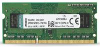 MEMORIA NOTEBOOK SODIMM DDR3 1333 4GB KINGSTON PC10600  KVR13S9S8/4