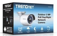 CAMARA TRENDNET  TV-IP310PI  OUTDOOR 3 MP POE DAY NIGHT NETWORK
