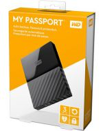 DISCO DURO EXTERNO 3TB 2.5 USB3 W. DIGITAL MY PASSPORT WDBYFT0030BBK-WESN