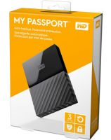 DISCO DURO EXTERNO 3TB 2.5 USB3 WESTER DIGITAL MY PASSPORT WDBYFT0030BBK