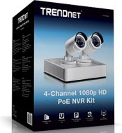 KIT NVR TRENDNET TV-NVR104K  POE HD DE 4 CANALES