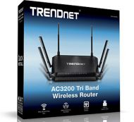 RUTEADOR TRENDNET TEW-828DRU AC3200 TRI BAND WIRELESS