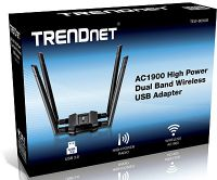 ADAPTADOR USB A WIRELESS TRENDNET TEW-809UB DUALBAND AC1900