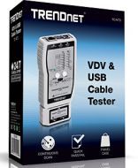 PROBADOR DE CABLE DE RED VDV  USB TRENDNET TC-NT3