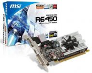 TARJETA DE VIDEO 1GB PCI EXPRESS MSI ATI RADEON HD6450 DDR3 VGA/DVI/HDMI