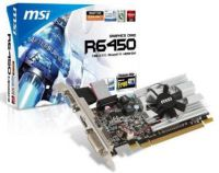 TARJETA DE VIDEO 1GB PCI EXPRESS MSI ATI RADEON HD6450 DDR3 VGA DVI-D HDMI (LP)