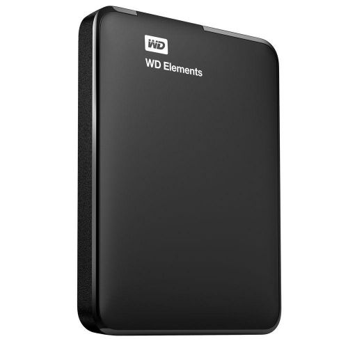 DISCO DURO EXTERNO 1TB 2.5 USB3 WESTERN DIGITAL ELEMENTS WDBUZG0010BBK