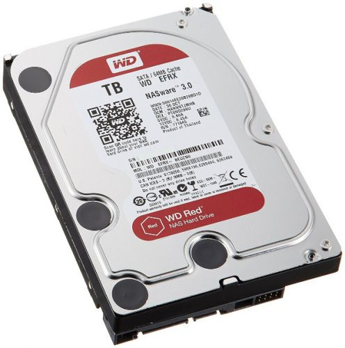 DISCO DURO PC 4TB SATA 5400 64MB W DIGITAL WD40EFRX ROJO