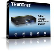 SWITCH TRENDNET TEG-082WS 8 PUERTOS GIGABIT WEB SMART