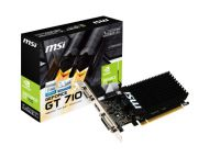 TARJETA DE VIDEO 1GB PCI EXPRESS MSI GT710 DDR3 VGA/HDMI/DVI-D